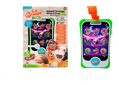 Tablet, Celular Tactil Infantil, Educativa - Granja De Zenon