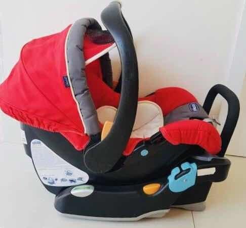 Cadeirinha/bebê Conforto Chicco Keyfit Vermelha