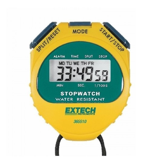 Extech 365510 | Reloj / Cronometro Lcd Digital