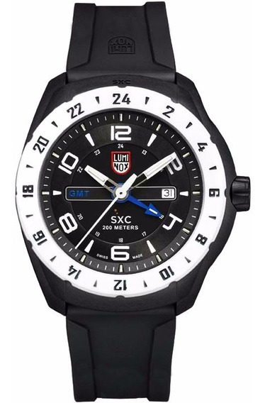 Reloj Luminox Space A.5027 Original Para Hombre Time Square