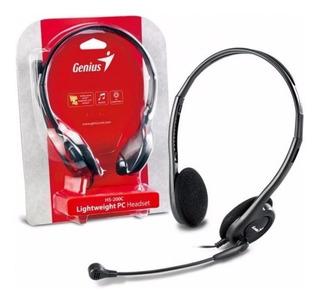 Auriculares Vincha Con Microfono Genius Hs-200c Skype Chat