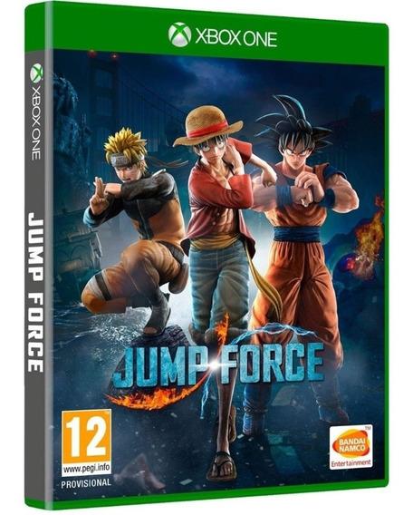 Game Jump Force Xbox One Disco Fisico Novo Lacrado Promoção
