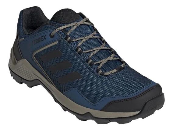 Tênis adidas Terrex Eastrail - Masculino - 45 - Azul/preto