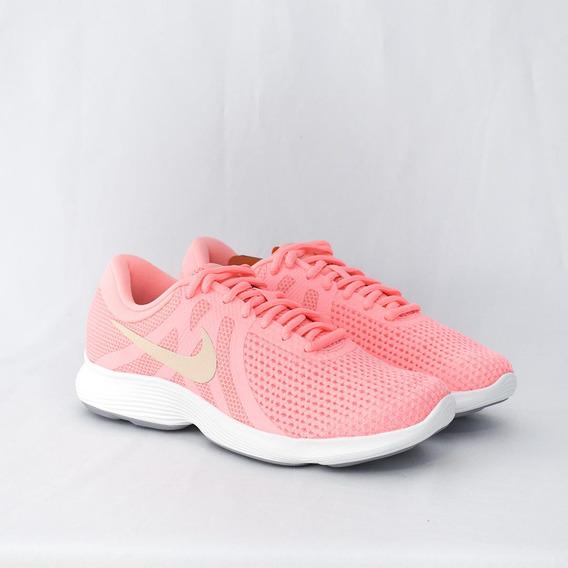 Tênis Nike Feminino Revolution 4 Pink Original
