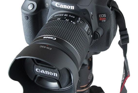 Parasol Ew-63c Lente Canon Ef-s 18-55mm Is Stm