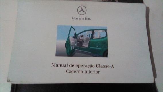 Manual Do Proprietário Mercedes Classe ´a ` 160
