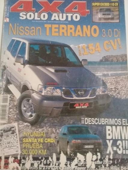 Revista 4x4 Solo Auto Rara Em.espanhol Sobre Nissan Terreno