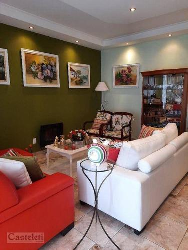 Imagem 1 de 29 de Casa Com 4 Dormitórios À Venda, 240 M² Por R$ 750.000,00 - Jardim Paranapanema - Campinas/sp - Ca2267