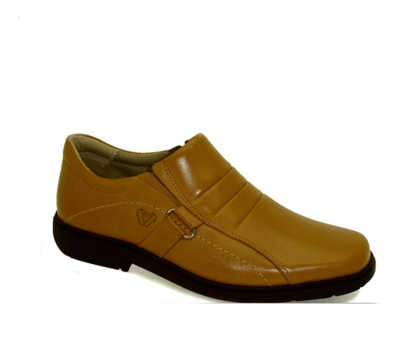 Sapato Masculino Em Couro Vudalfor Ref.: 2356