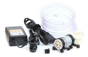 Mini Bomba De Água + Fonte 12v 2a - Rs-385 Projetos Arduino