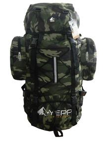 Mochila Lona Camuflada Exército Militar Impermeável 3008