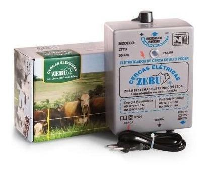 Eletrificador Cerca Elétrica Rural 2tt3 P/ 2500m - Zebu 110v