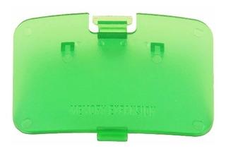 Tapas Para Consola N64 Verde Transparente Nintendo 64
