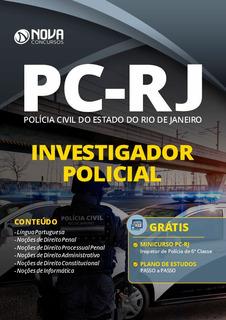 Apostila Pc Rj 2020 Investigador Policial