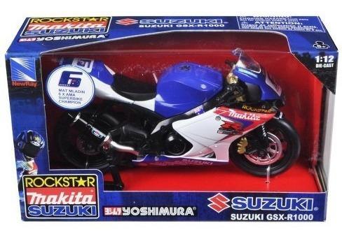 Miniatura Suzuki Rockstar Gsx-1000 1:12