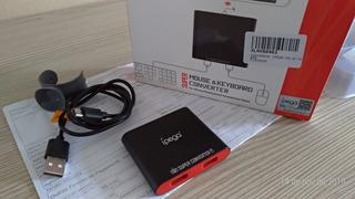 Adaptador De Mouse E Teclado Para Celular. Ipega 9116