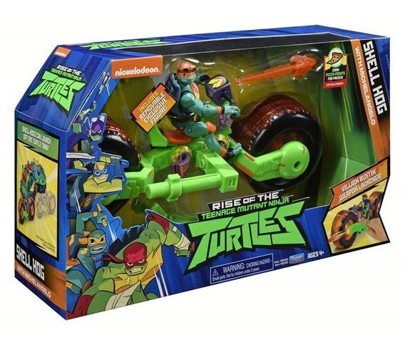 Boneco Tartaruga Ninja E Veículo - Michelangelo - 2043 Sunny