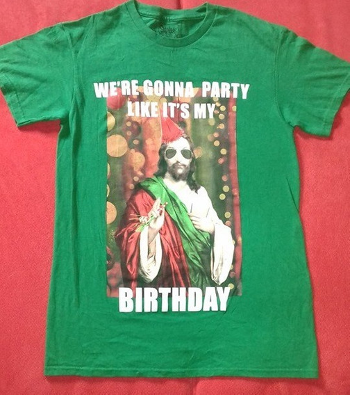 Playera Spencers Jesus S Blasfemia Party Fiesta Talla Chica