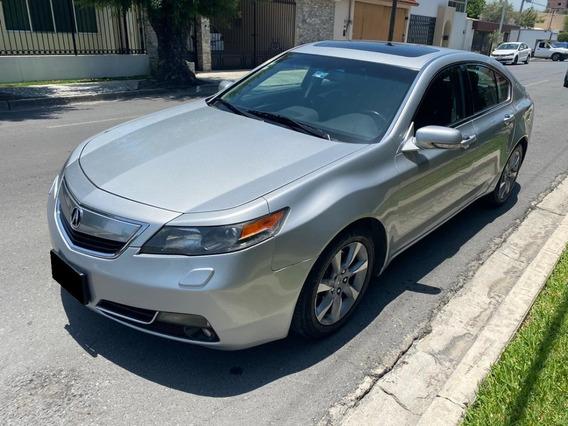 Acura Tl 2012, Plata, Excelentes Condiciones, 6 Cilindros