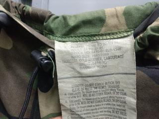 Pantalón Goro-tex Impermeable Us Army Woodland Camo