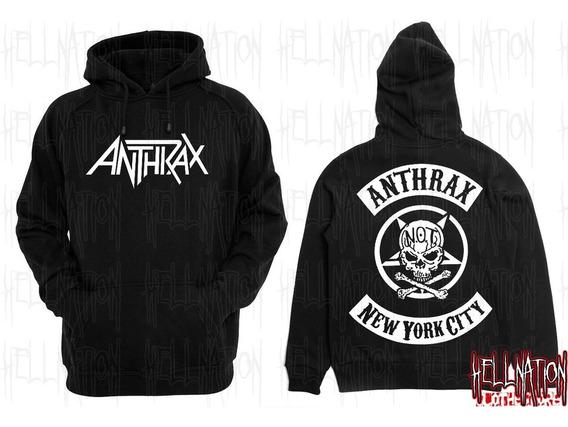 Sweaters Bandas De Metal/rock/punk