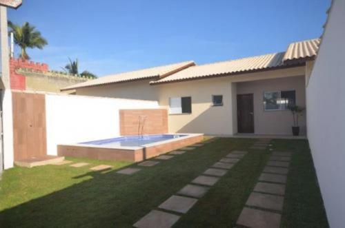 Bela Casa Com Piscina No Grandesp Em Itanhaém - 5791   Npc