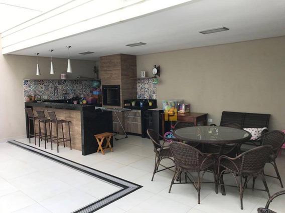 Casa Residencial À Venda, Cariobinha, Americana. - Ca0103