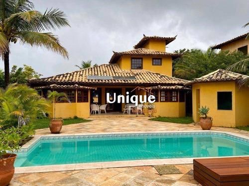 Imagem 1 de 16 de Casa À Venda, 178 M² Por R$ 1.290.000,00 - Manguinhos - Armação Dos Búzios/rj - Ca1337