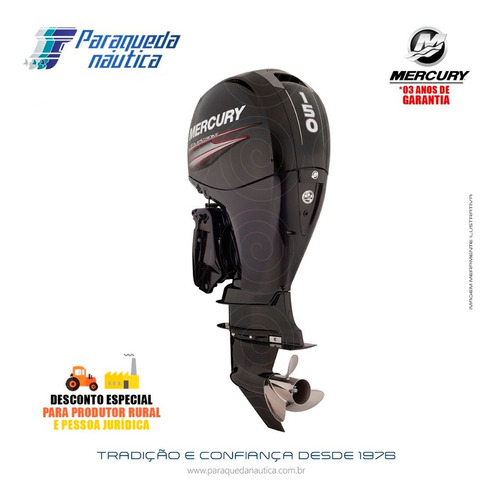 Motor De Popa Mercury 4 Tempos 150hp 3.0l Cxl Efi