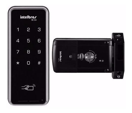 Cerradura Digital Intelbras Touch Clave Tarjeta De Presencia