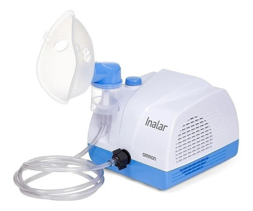 Nebulizador compressor Omron Inalar branco 110V/220V