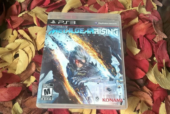 Metal Gear Rising Revengeance Mídia Física Ps3