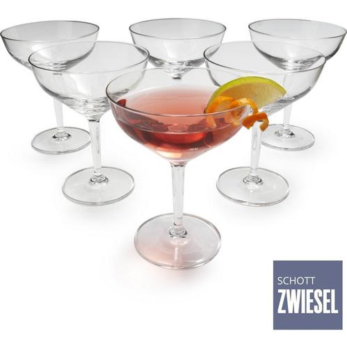 Imagem 1 de 8 de  Taça Dry Martini Cristal Tritan Drink Bar 6un 226ml Schott