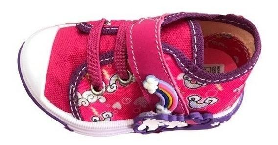 Tênis Infantil Menina Unicornio Pink Espelho Meu B210