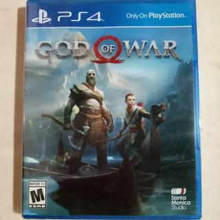 God Of War 4 Ps4 Sellado