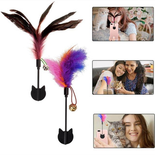 Yisilin Selfie Cat, Cat Selfie Stick With Funny Feather For