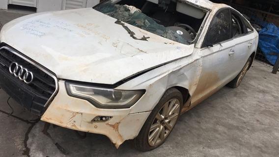 Audi A6 2014 Sucata Para Venda De Peças
