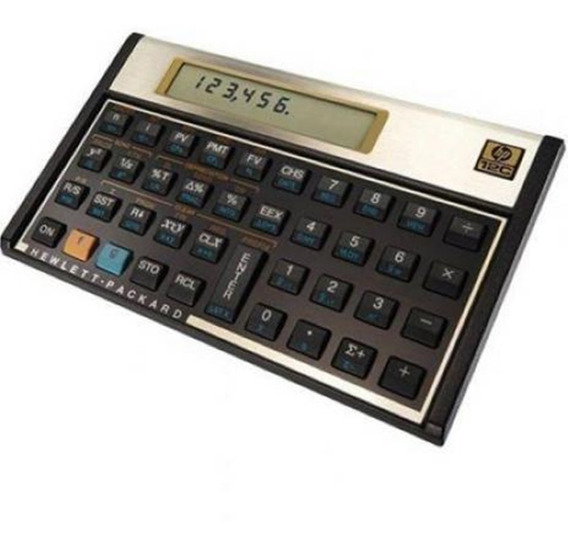 Calculadora Financeira Hp 12c Gold Original - Open Box