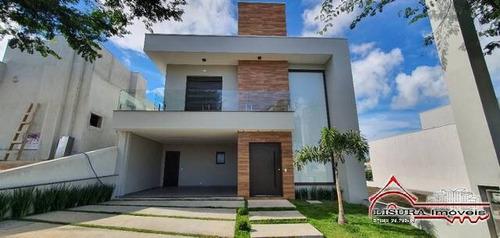 Imagem 1 de 15 de Linda Casa De Condomnio Alto Apdrão Jacareí Sp - 7803