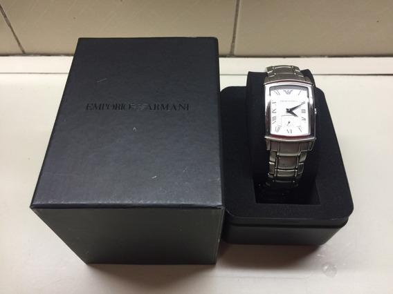 Relógio Emporio Armani Original Com Manuais