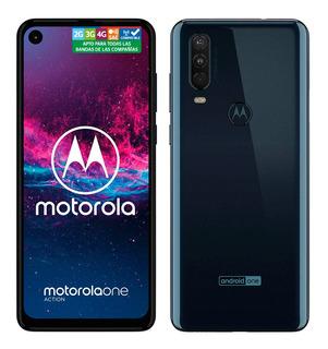 Motorola One Action Gris Vintage 128gb Rom 4gb Ram