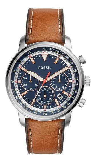 Relógio Fossil Fs5414/0mn + Garantia De 2 Anos + Nf
