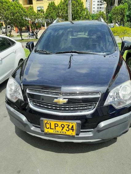Chevrolet Captiva Sport 4x4 2010 166000km Negra Único Dueño