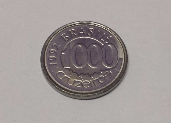 Moeda Antiga 1000 Cruzeiros De 1992