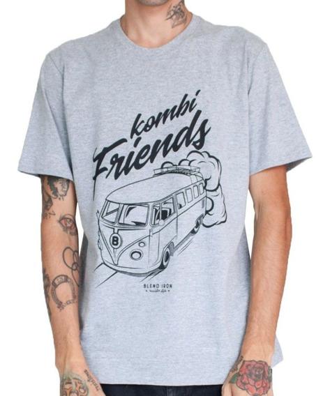 Camiseta Masculina - Kombi Friends
