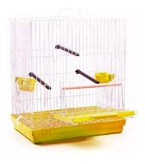 Gaiola Criadeira Calopsita Periquito Pássaro Manso Montada