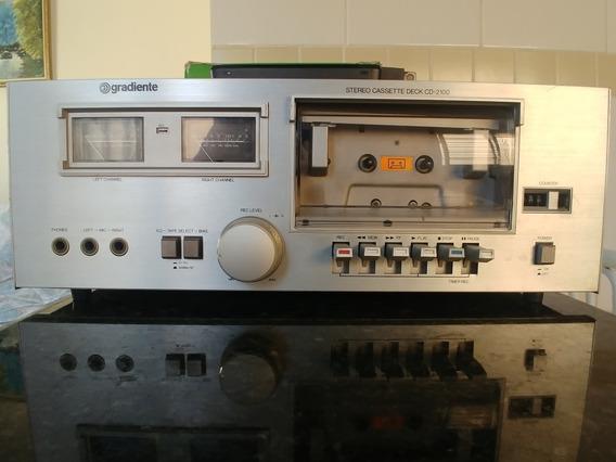 Tape Deck Gradiente Cd-2.100 - Impecavel