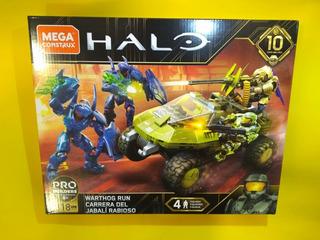 Mega Construx Halo 10 Aniversario Warthog Arbiter Hunters