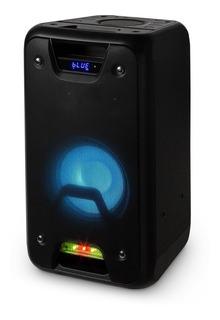 Bafle Parlante Portatil Bt Bateria 6hs Luces + Ctrol 60w Rms