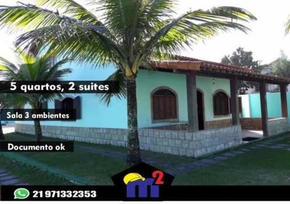 Belissima Casa Na Praia De Ponta Negra, Marica-rj.